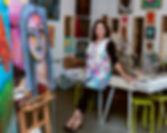 Latina Oil Painter | Art Pieces | Non-Profit | Arte al Rescate | Puerto Rican Hurricane Victims | Chicago Visual Artist | Visual Artist | AponteART | Female Oil Painter | Cultural Artist Chicago | Hispanic Artist Chicago | Chicago | Janice Aponte