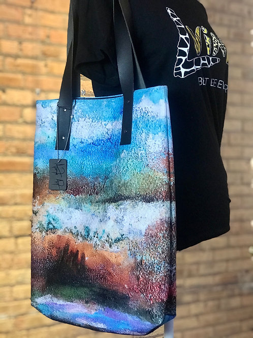 Earth Abstract Tote