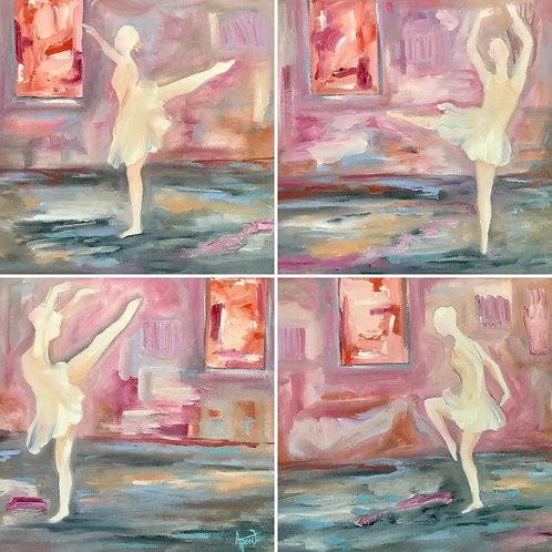Ballerinas in isolation
