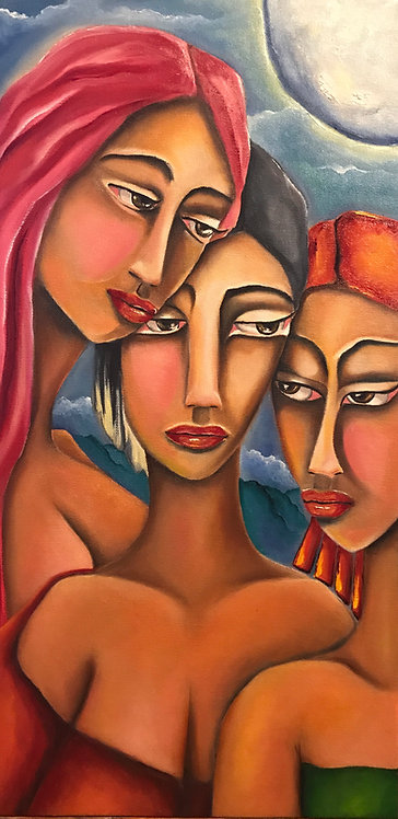 Three Sisters - SOLD