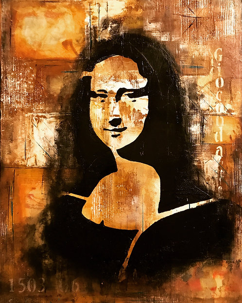 La Gioconda #3 The Euro Love Project SOLD