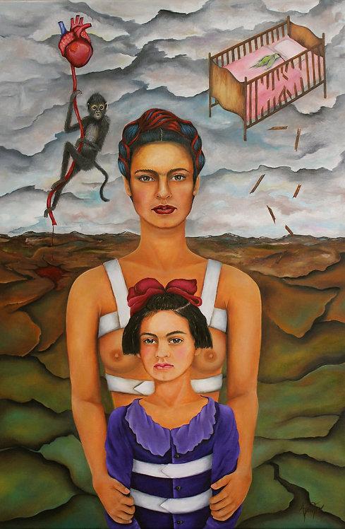 Frida Broken Dreams 24x36