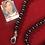 Thumbnail: Blue Jasper and Onyx stone necklace