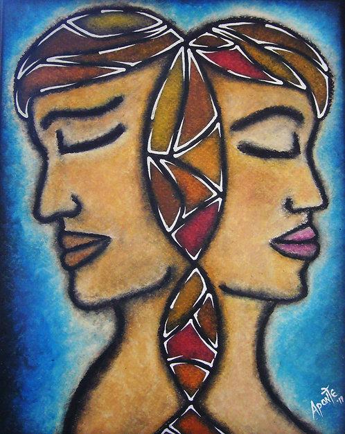 Unison, Indios Tainos - 8 x 10 art image