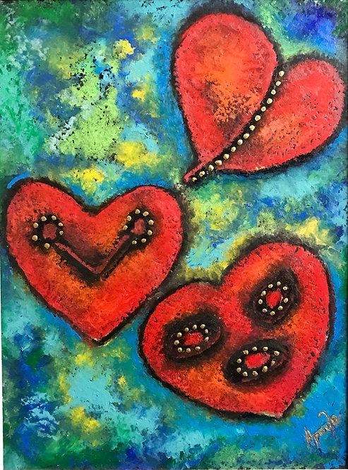 Taino Petroglyph Heart