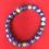 Thumbnail: Blue Lava stone bracelet #4