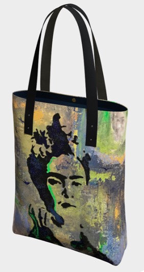 Frida Tote, Vegan Leather Strap