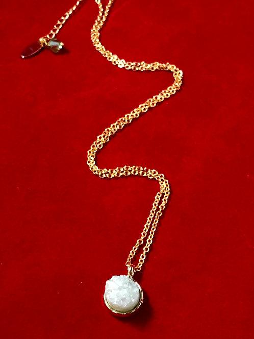 Mint Green stone pendant