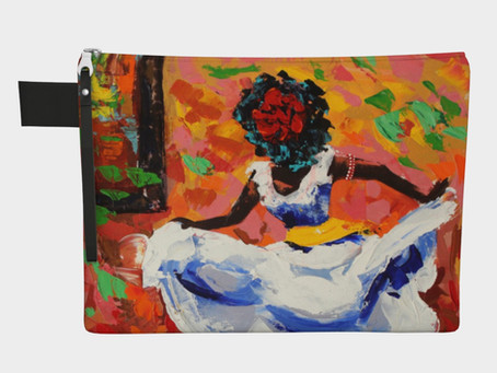 Just in! The Art Clutch carry all!
