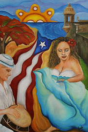 Puerto Rican Female Painter | Janice Aponte | Chicago | Visual Artist | Cultural Collection | Original Art Collections | Abstract Artist | Oils | Acrylics | Mixed Media on Canvas | Visual Artist | AponteART | Female Oil Painter Chicago | Hispanic Artist Chicago | Chicago Visual Artist