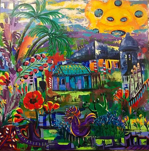 Tropical Vibes Sun