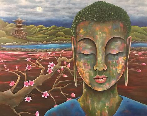 Cherry Blossom Buddha