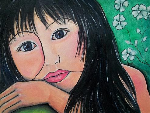 Tina Original Watercolor