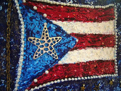 Bandera de Puerto Rico SOLD