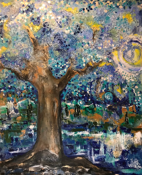 Whimsical tree SOLD