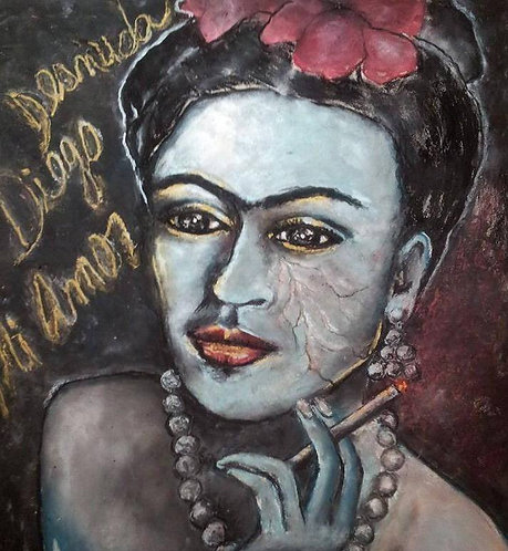 Frida Desnuda
