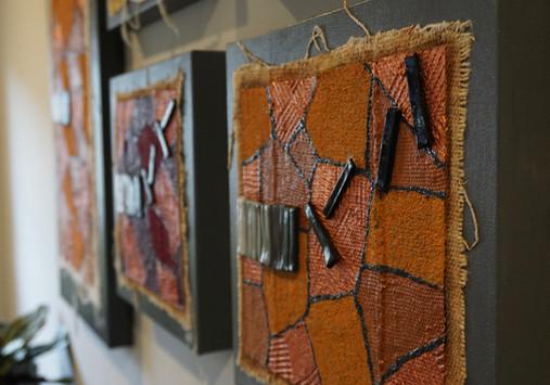 Mosaicism on Mud Cloth