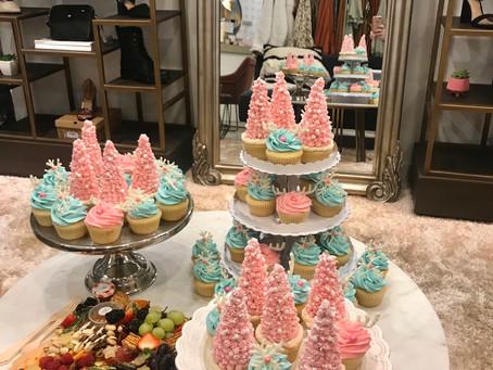 Glam Christmas Cupcakes - Crazy Beautiful Influencer Event