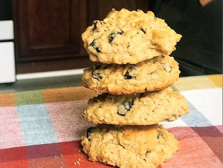 The Perfect Chewy Oatmeal Cookie