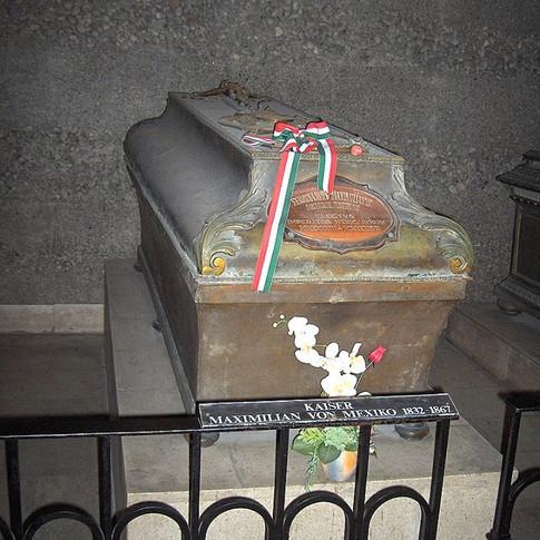 Tumba de Maximiliano en Austria