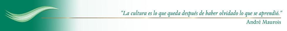 La cultura es lo que queda después de haber olvidado lo que se aprendió