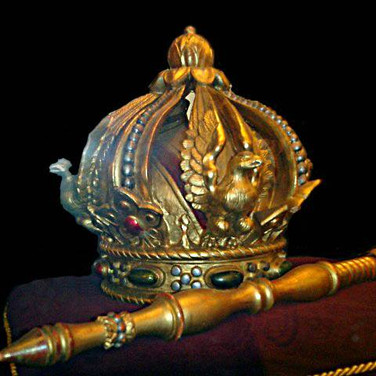 Replica de la Corona Imperial