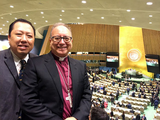Blog by the Assistant Bishop of the Diocese in Europe about visit to the UN General Assembly