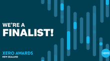 We're a Finalist! Xero Awards 2019