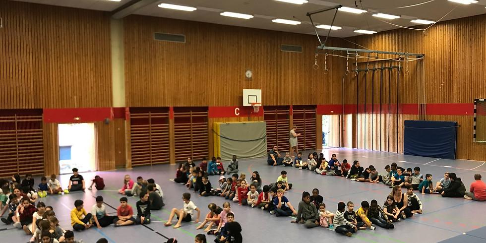 Schulprojektwoche in der Fröbelschule, Kiel