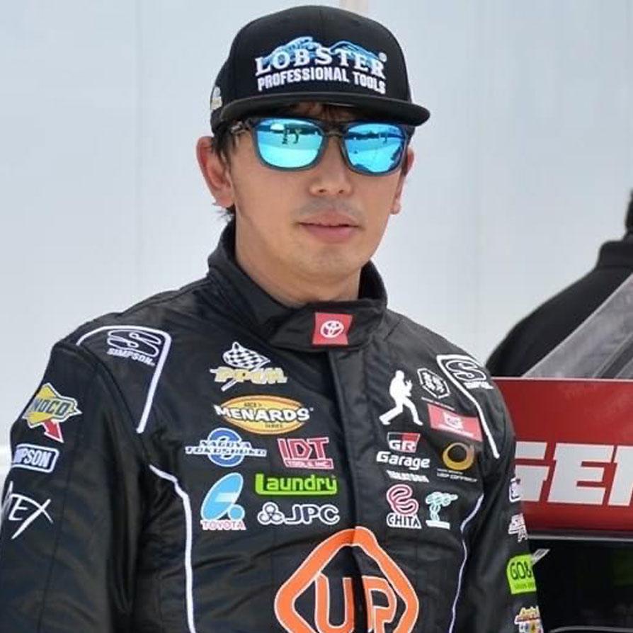 古賀琢麻NASCAR Driver