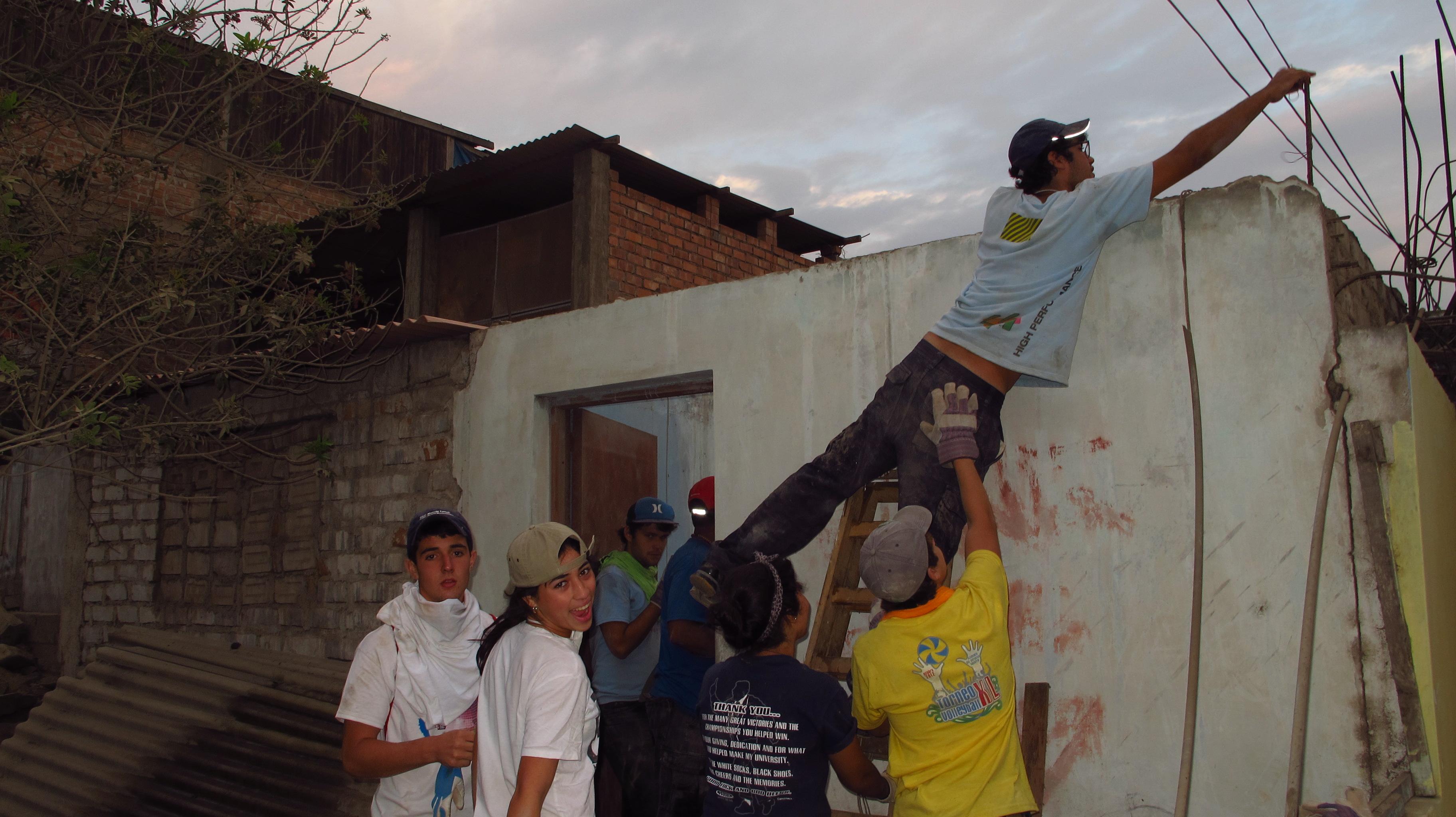 Rebuilding in Ecuador