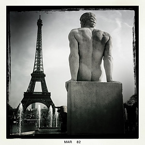 Iphoneography - Paris in Mono
