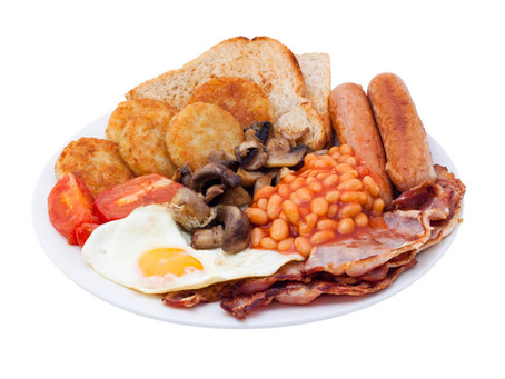 Who doesn't love a full English breakfast?