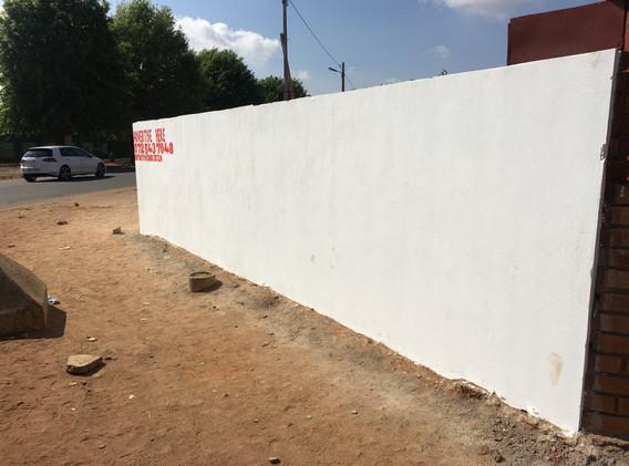 1058 Mocke Street Daveyton - long wall +