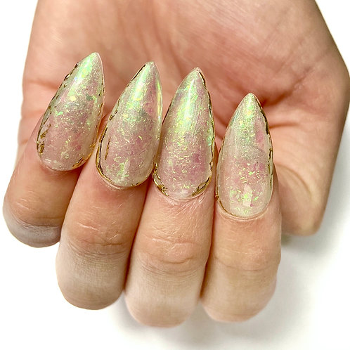 Press on nails - Set Design (Opals)