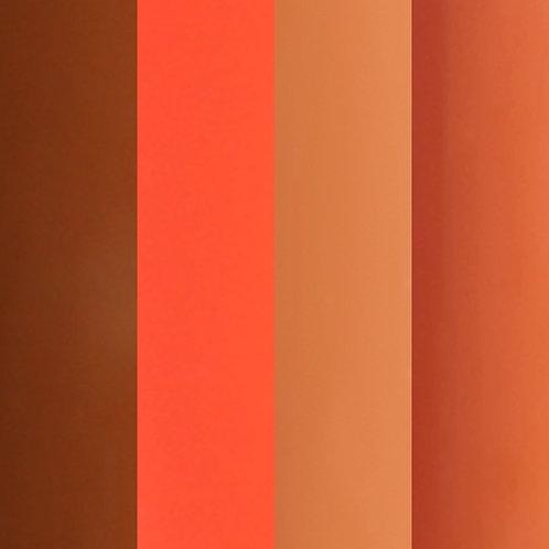 Press on nails - Simply Colour Orange