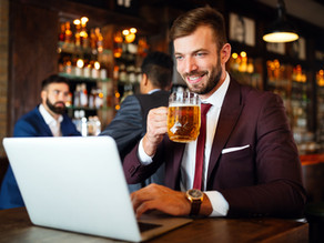 Bring your own (BYOB) - putting the fun into virtual networking and conferences