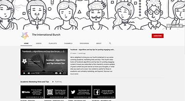 YouTube Channel - The International Bunc
