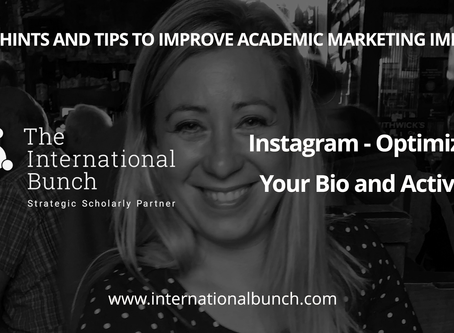 Instagram - optimizing your bio and activity