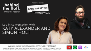 #OpenMarketing podcast - in conversation with Katy Alexander and Simon Holt from Publishing Enabled