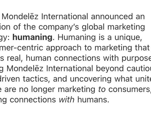 Is humaning just a failed buzzword - or does it actually have longevity?