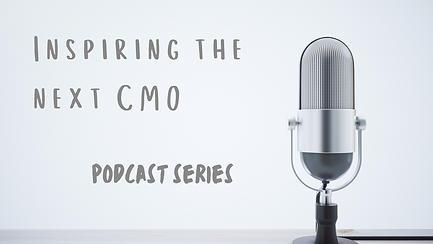 Inspiring the next CMO podcast series with an image of a microphone
