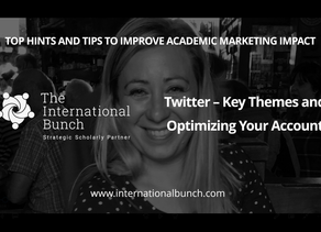 Twitter – key themes and optimizing your account