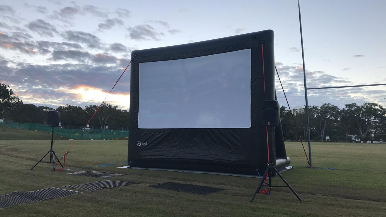 4.5m movie screen