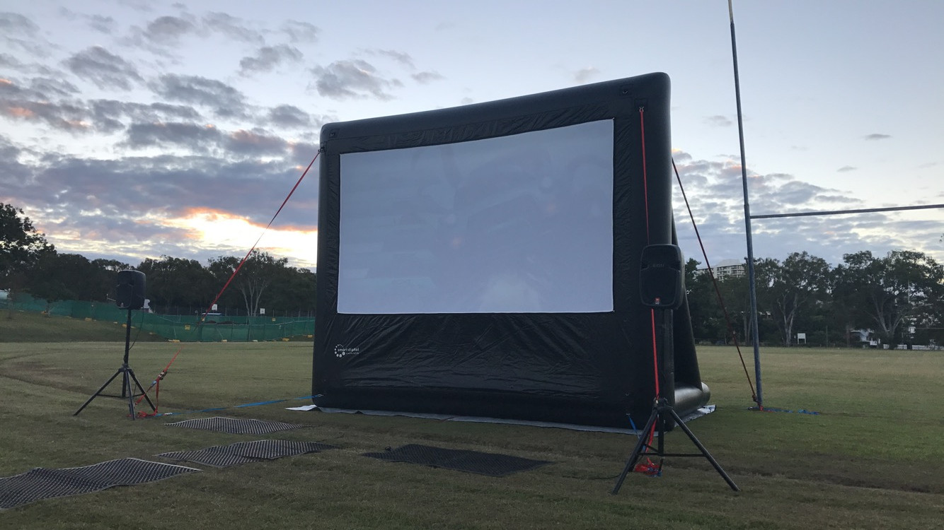 4.5m movie screen