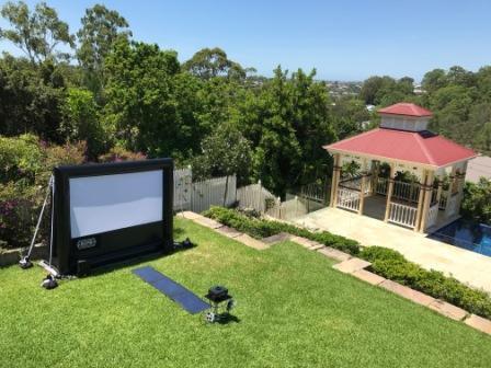 Backyard Bigscreen