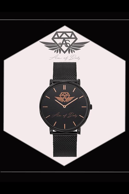 Montre Luxury Black / Gold