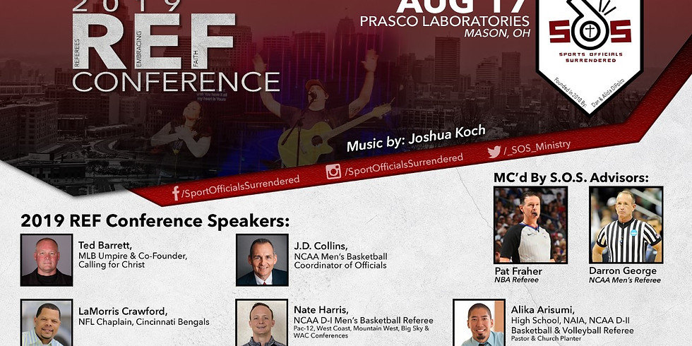 Referees Embracing Faith Conference 2019