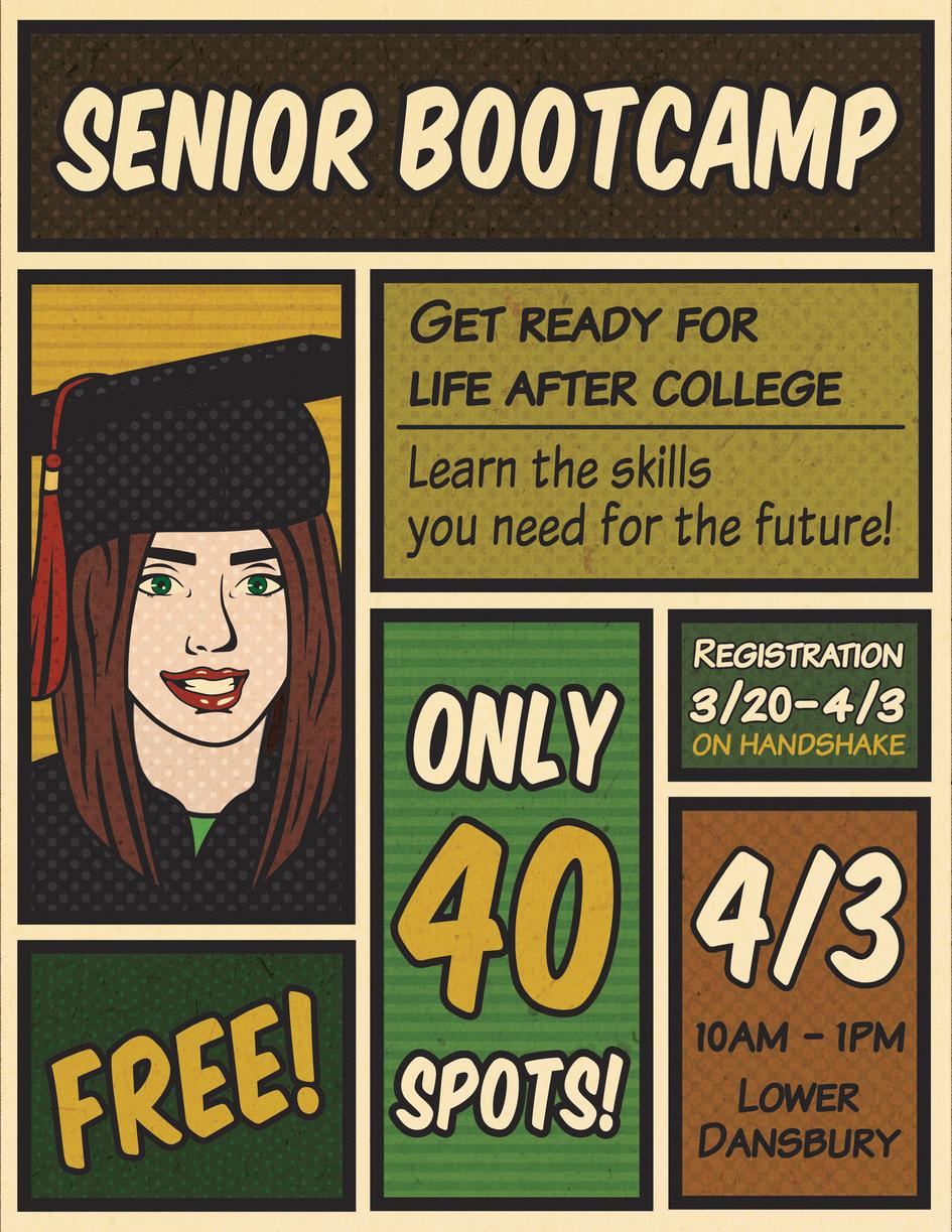 Senior Bootcamp Flyer