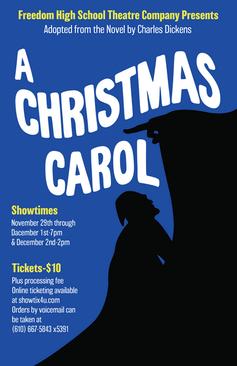 A Chrstmas Carol Flyer